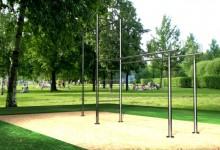 Турники из нержавеющей и чёрной стали, спортивные комплексы - Компания Сервис Индастри
